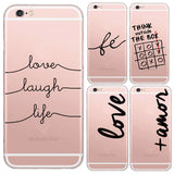 Love Words Case For Iphone 7 - Womans Clothing