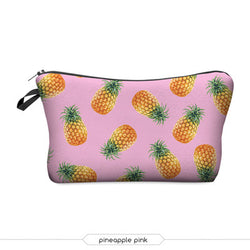 3D Printed Makeup Bags With Multicolor Pattern