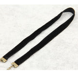 Simple Black Choker Necklace