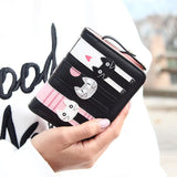 Women's Cat Wallet