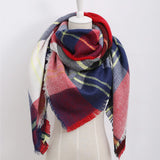 Tartan Scarf - Womans Clothing