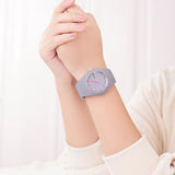 Women Silicone Band Sport Watch