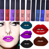 Soft Matte Lip Cream Lip Gloss 12 Colors