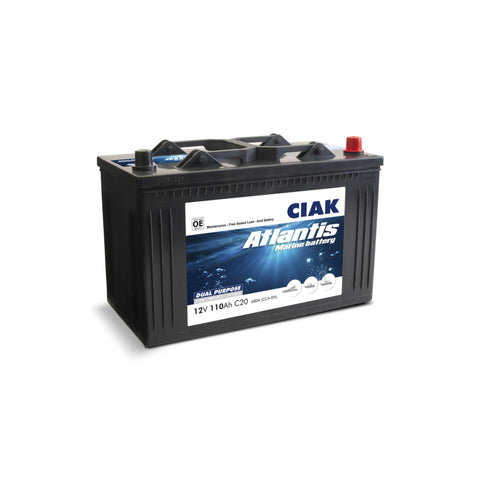 AKUMULATOR CIAK ATLANTIS 12V- 110AH MARINE BATTERY START/SERVICE MF