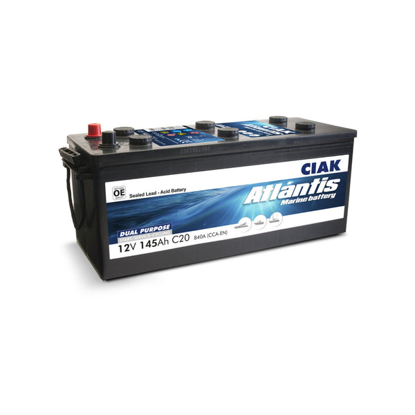 AKUMULATOR CIAK ATLANTIS 12V- 145AH MARINE BATTERY START/SERVICE