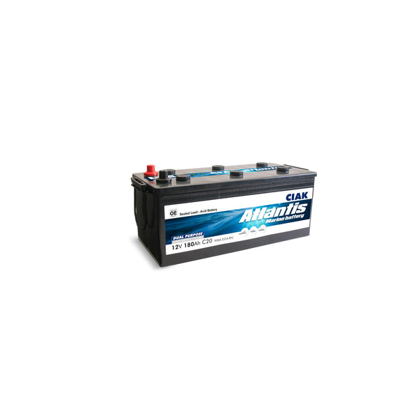 AKUMULATOR CIAK ATLANTIS 12V- 180AH MARINE BATTERY START/SERVICE