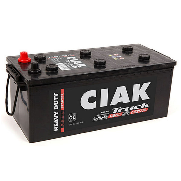 AKUMULATOR CIAK STARTER HD 12V-200 AH PLUS