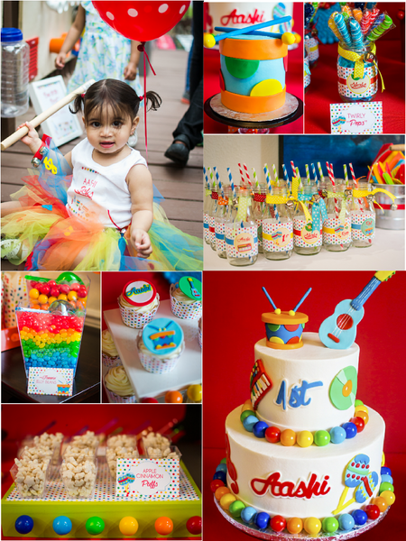 baby jam first birthday party
