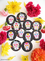 Day of The Dead Dia de Los Muertos Party Printables Supplies & Decorations Kit