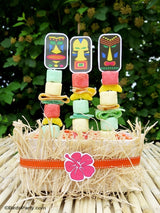 Tikki Luau Birthday Party Printables Supplies & Decorations | BirdsParty.com