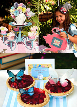 Alice Tea Birthday Party Printables Supplies & Decorations | BirdsParty.com