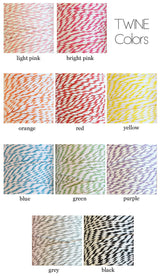 Baker's Twine 100 Yards Roll - Various Colors | BirdsParty.com