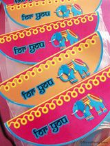 Bollywood Bling Birthday Party Printables Supplies & Decorations | BirdsParty.com
