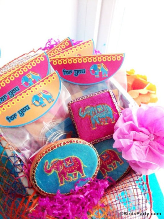 Bollywood Bling Birthday Party Printables Supplies