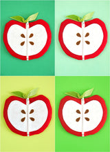 Free Printable Apple Zipper Pouch Template | BirdsParty.com