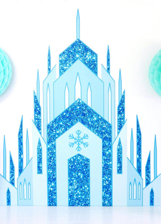 Awe Inspiring Ice Princess Castle Large Printable Poster Birdsparty Com Download Free Architecture Designs Scobabritishbridgeorg