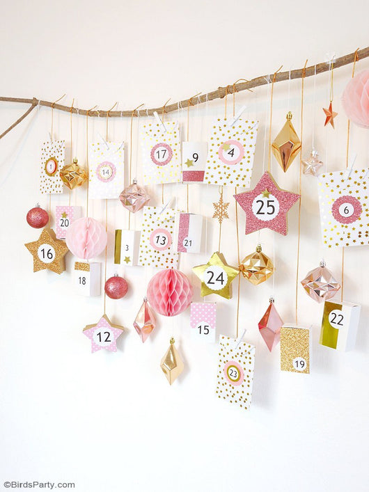 picture about Printable Advent Calendar known as Free of charge Printable Arrival Calendar Quantities