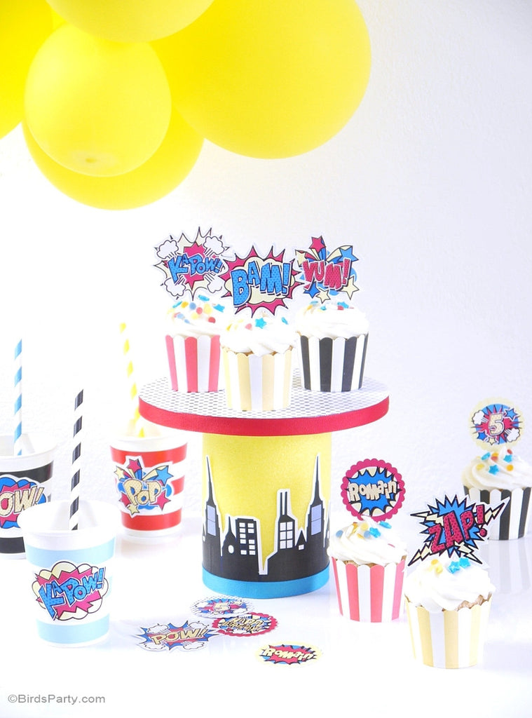 It's just a graphic of Gratifying Printables Birthday Decorations