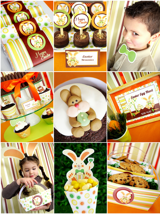 Easter Party Supplies and Printables Shop