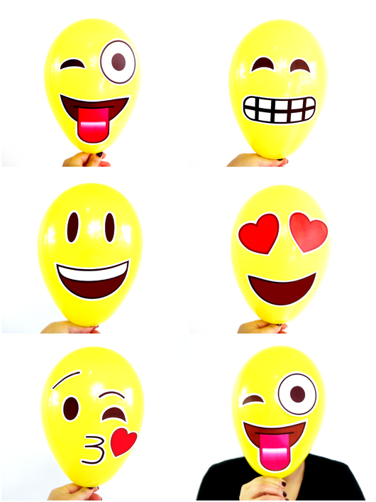 Emoji Birthday Party Printables Supplies Decorations