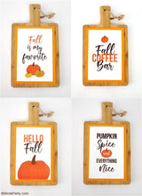 Fall Printable Signs Kit | BirdsParty.com