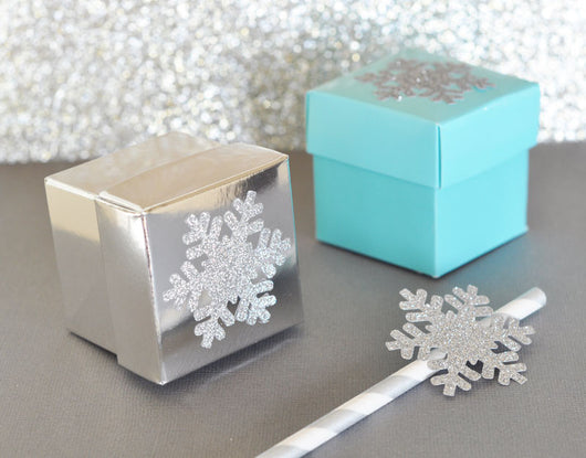 Mini Cube Party Favor Boxes In Various Colors Birdsparty Com