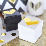 Mini Cube Party Favor Boxes - Various Colors | BirdsParty.com