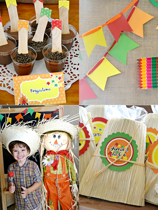 Festa Junina Party Printables Supplies & Decorations Kit | BirdsParty.com