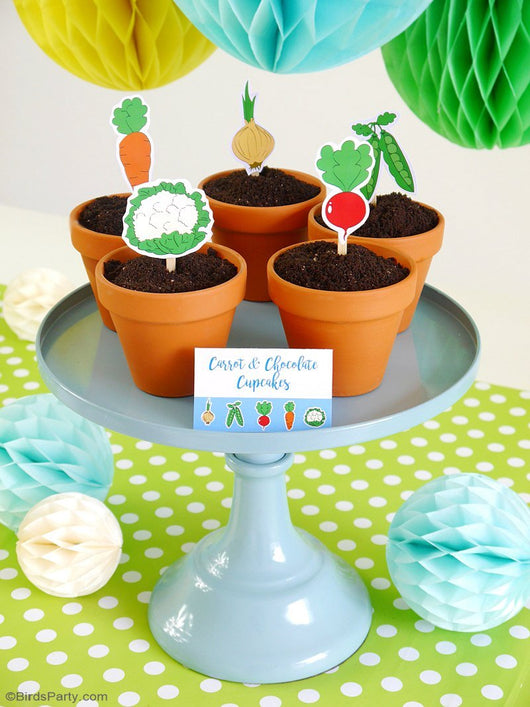Free Peter Rabbit Inspired Party Printables