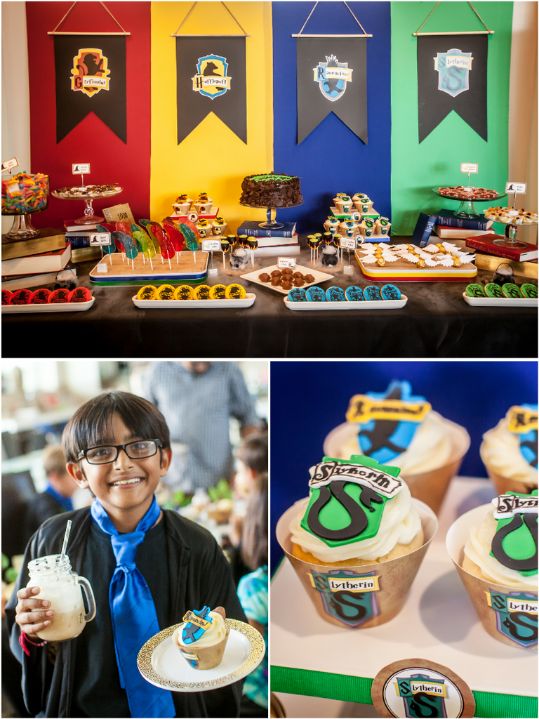Harry Potter Classroom: Wizard Boy Birthday Party Printables Supplies