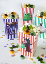 Hotel Transylvania 3 free party printables and supplies for your birthdays, play dates or Halloween celebrations! | BirdsParty.com