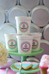 Ice Cream Parlor Birthday Party Printables Supplies & Decorations | BirdsParty.com