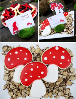 Little Red Riding Hood Birthday Party Printables Supplies & Decorations | BirdsPart.com