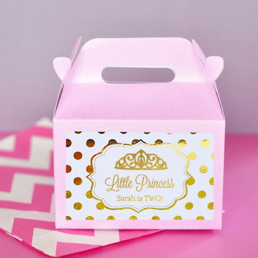 Mini gable box for party favors Party Supplies