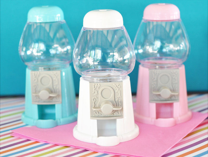 Mini Gumball Candy Machine In Various Colors Birdsparty Com