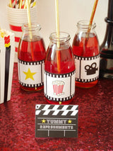 Movie Party Printables Supplies & Decorations Kit | BirdsParty.com