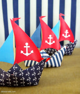 Nautical Birthday Party Printables Supplies & Decorations