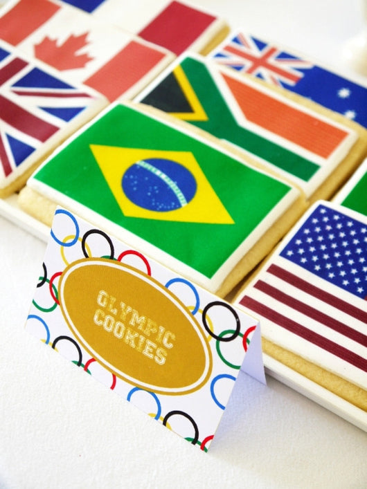 Olympics Party Printables Supplies & DIY Decorations ...