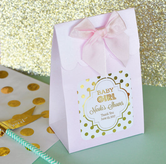Party Favor Boxes with Matching Bows - Various Colors | BirdsParty.com