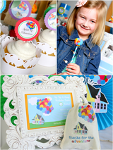 Balloons Birthday Party Printables Supplies & Decorations | BirdsParty.com