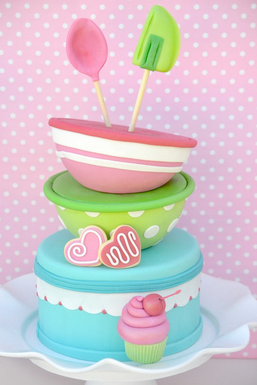 Cupcake Baking birthday party printables supplies shop