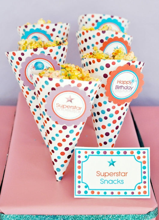 Pop Star Birthday Party Printables Supplies Birdsparty Com