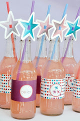 Pop Star Birthday Party Printables Supplies & Decorations | BirdsParty.com