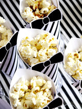 Popcorn Bar Birthday Party Printables Supplies & Decorations with Invites | BirdsParty.com