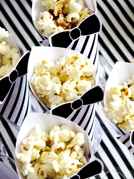 Popcorn Bar Birthday Party Printables Supplies