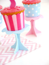 Mini Cupcake Pedestal Stands - Various Colors | BirdsParty.com