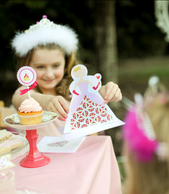 Princess Fairytale birthday party printables supplies shop