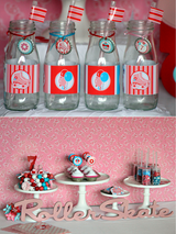 Roller Skates Birthday Party Printables Supplies & Decorations | BirdsParty.com