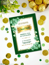 Saint Patrick's Day Baby Shower Party Party Printables Invitations | BirdsParty.com