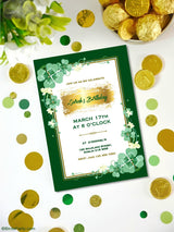 Saint Patrick's Day Birthday Party Party Printables Invitations | BirdsParty.com